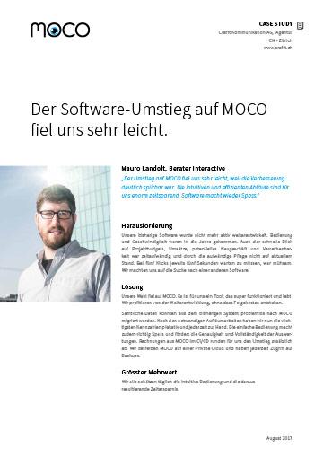 Case Study Agentursoftware und Agentur in Zürich
