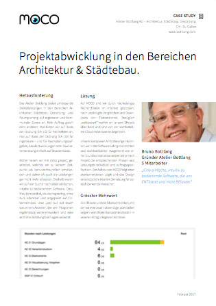 Case Study Software für Architekten-Ateliers und Architekturbüros