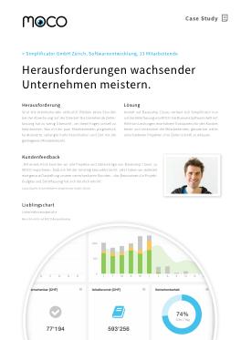 Case Study Agentursoftware und Simplificator