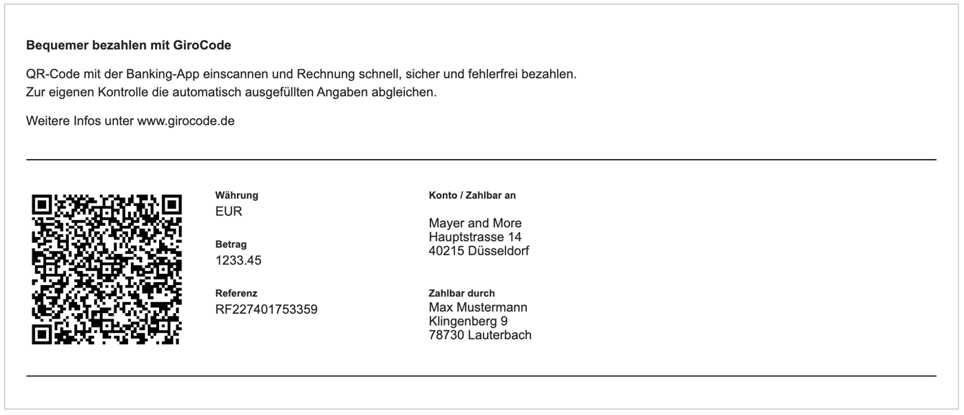 QR-Code / GiroCode und QR-Rechnung für die Schweiz
