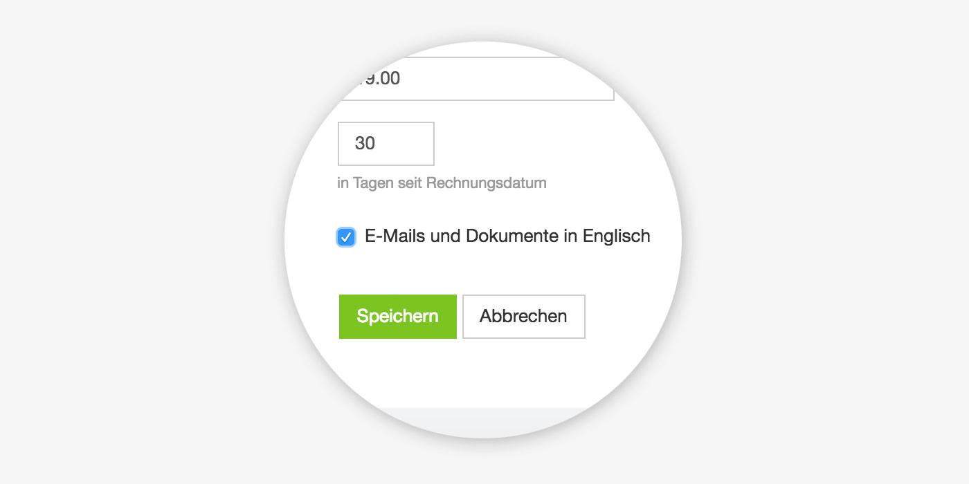 Agnetursoftware Englisch und Deutsch
