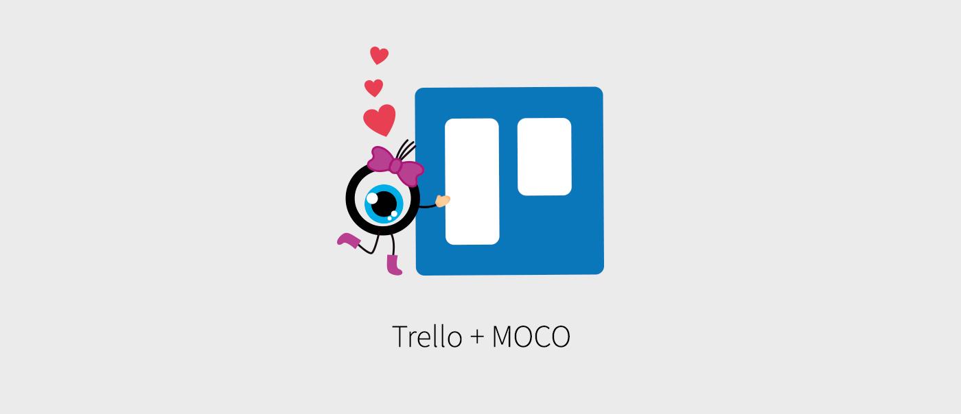 MOCO Zeiterfassung für Trello