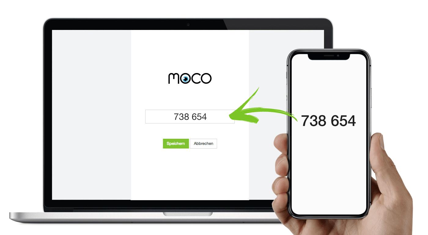 Zwei-Faktor-Authentifizierung für die Agentursoftware MOCO