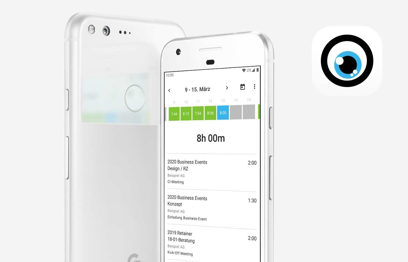 MOCO Agenturosftware Mobile App Android