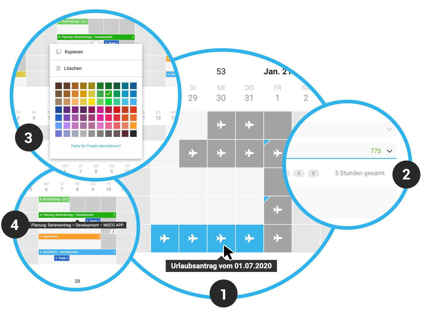 ressourcenplanung updates